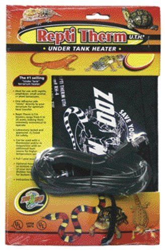 Zoo Med ReptiTherm Under Tank Heater Large ** Click image to review more details. (Note:Amazon affiliate link)