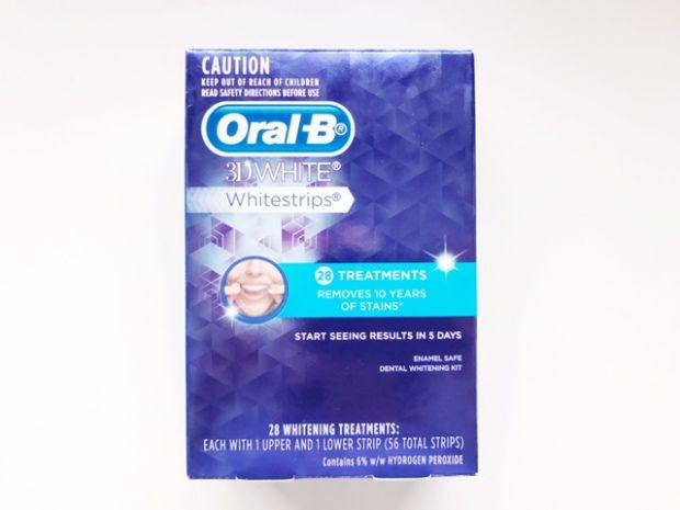 3D Whitestrips x Oral B