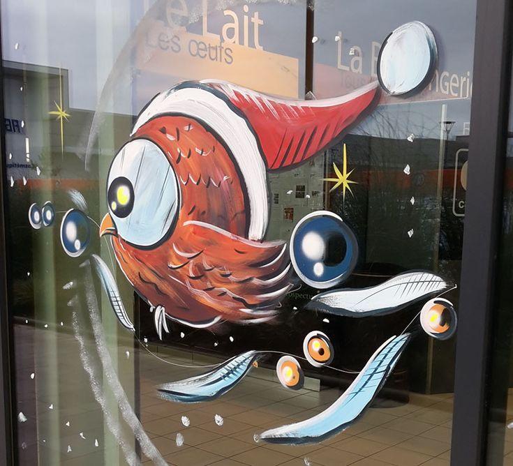 Les 95 meilleures images propos de decoration vitrine for Decoration vitrine noel exterieur