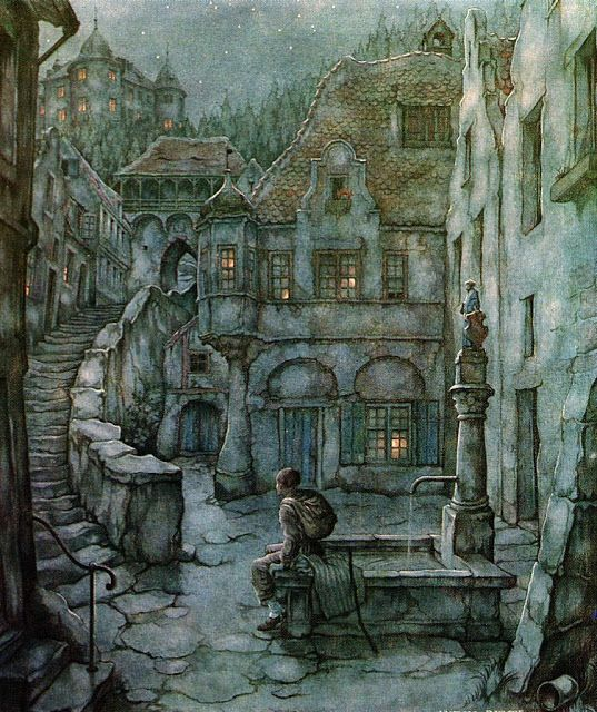 "The Art of Anton Pieck. ""1001 Arabian Nights"" ~ Blog of an Art Admirer"