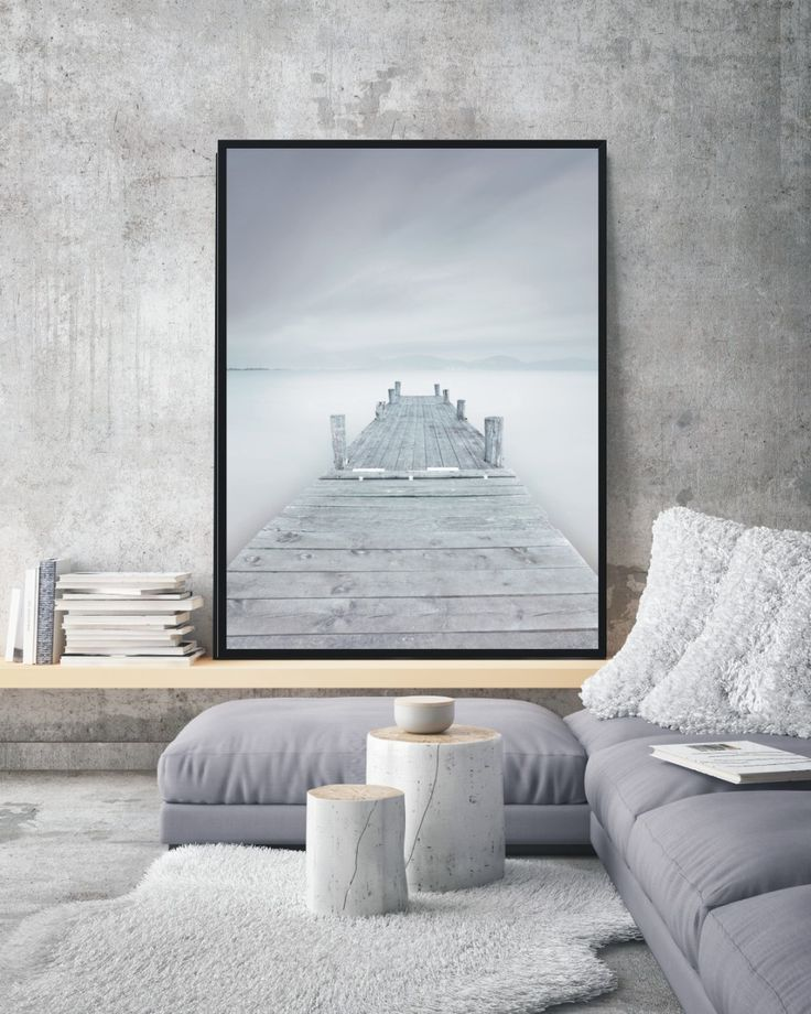 Plakat Fog - różne rozmiary NORD&CO