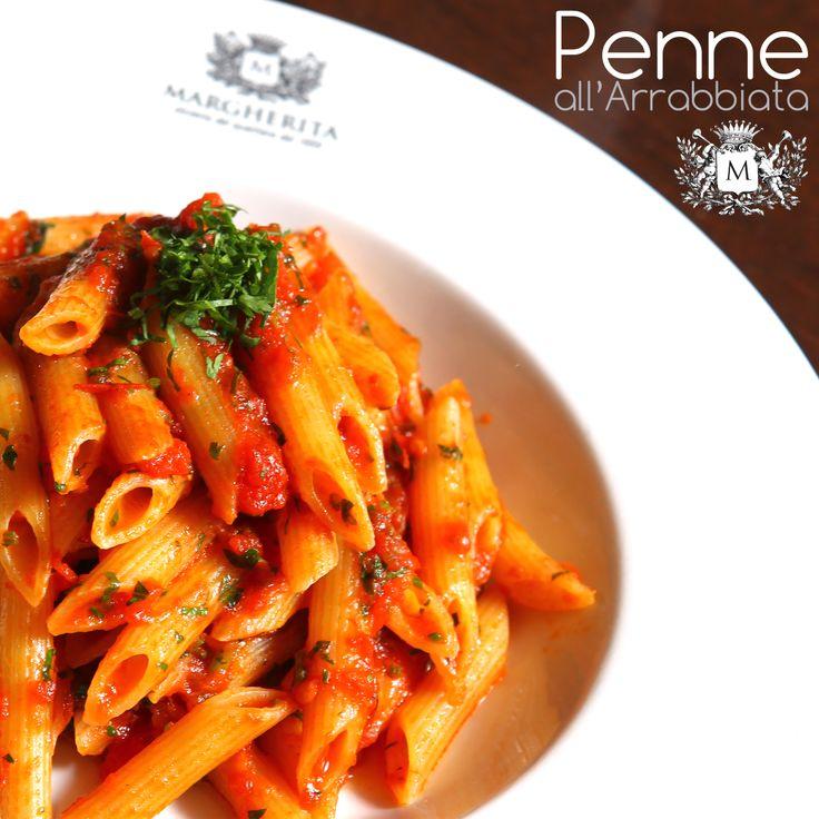 Simple italian food: penne all' arrabiata