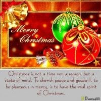 Christmas Wishes Greetings Quote free Wallpaper