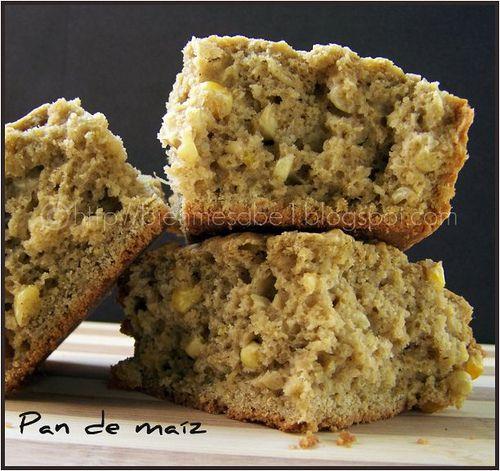Pan de maíz con fororo y otras recetas con diversas harinas.