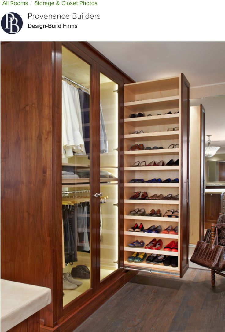 Pull-Out Shoe Rack