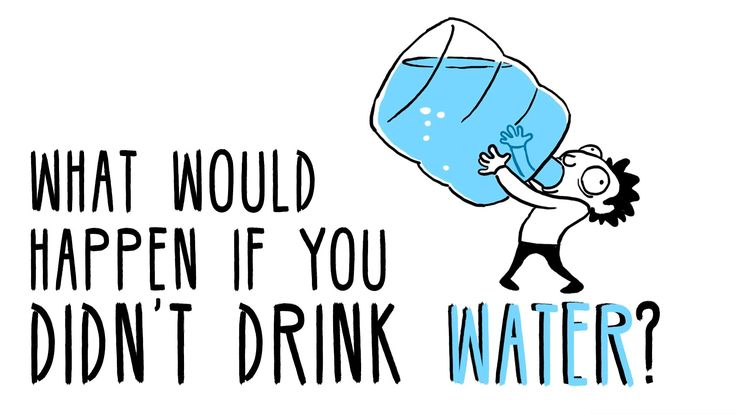 What Would Happen if a Person Stopped Drinking Water?