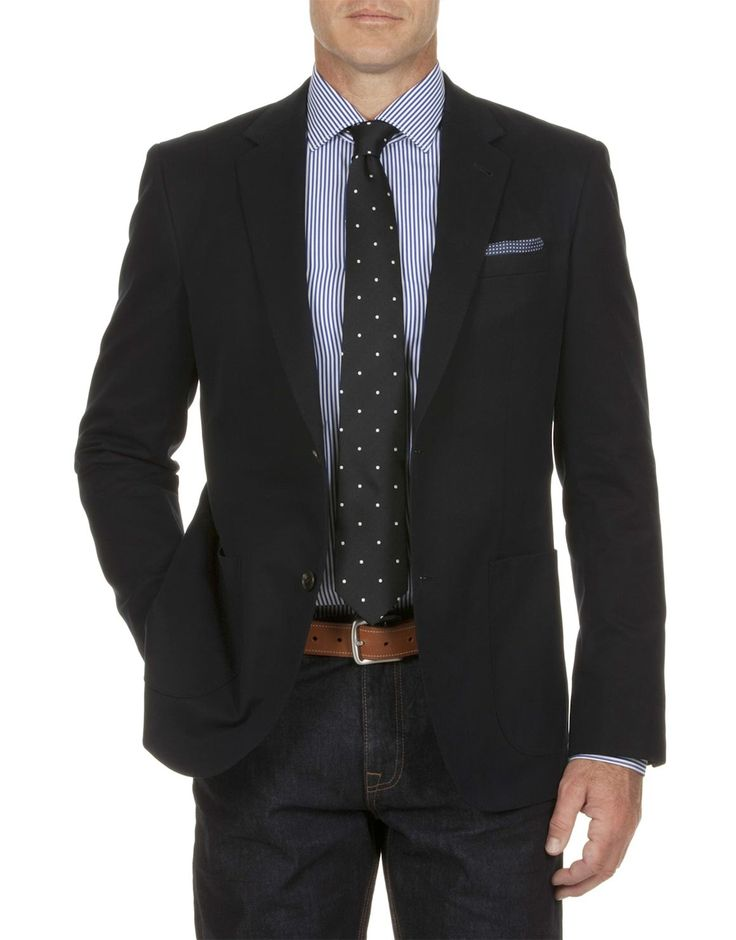Modern Cotton Blazer