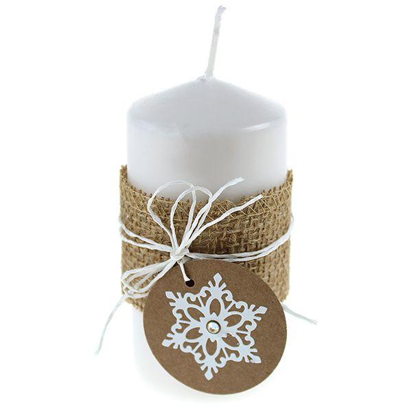 Tee upeita koristeita kynttilöihin!
