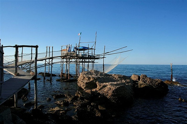 Those Abruzzo trabocco are a photographer's delight! #Italy #photography