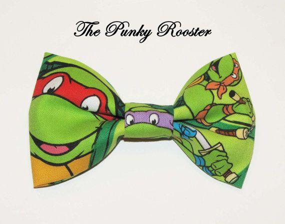 Teenage Mutant Ninja Turtles bow tie