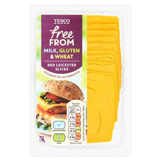 Tesco Free From Red Leicester Cheese Alternative 180G - Groceries - Tesco Groceries