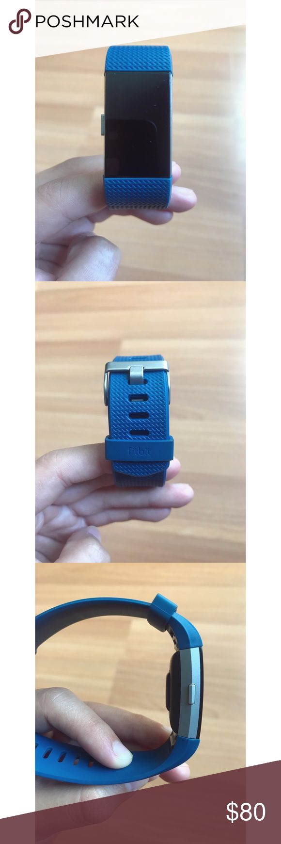 Fitbit Charge 2 Pre-loved and in excellent condition. Size small. Used for half a year. My pictures show great detail of my product. Charger included. Everything you see is what you get Fitbit Accessories Watches