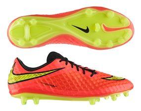 $224.99 - Nike Soccer Cleats | 599843-690 | Nike Hypervenom Phantom FG Soccer Cleats (Bright Crimson/Volt/Hyper Punch)  | FREE SHIPPING | SO...