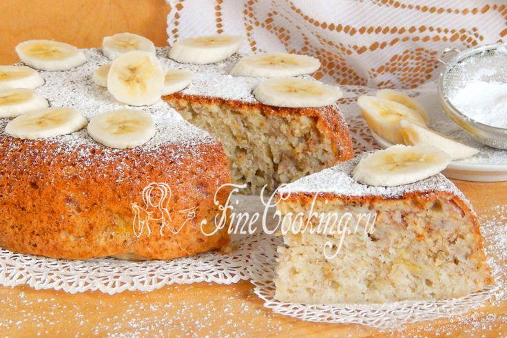 Банановый кекс в мультиварке - рецепт с фото