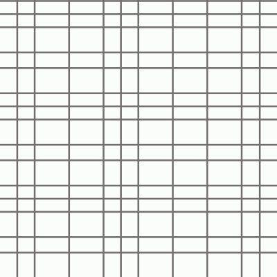 Eco Wallpaper Odin Checkered Plaid Wallpaper White - WV6067