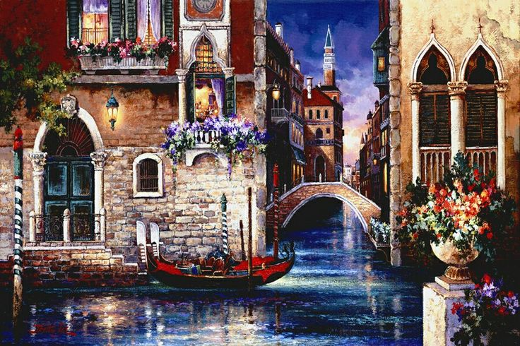Streets of Venice by James Lee