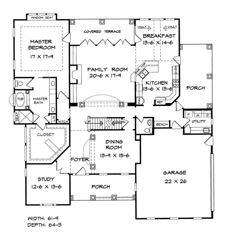Open floor plans open floor plan craftsman style home for Craftsman open floor plans