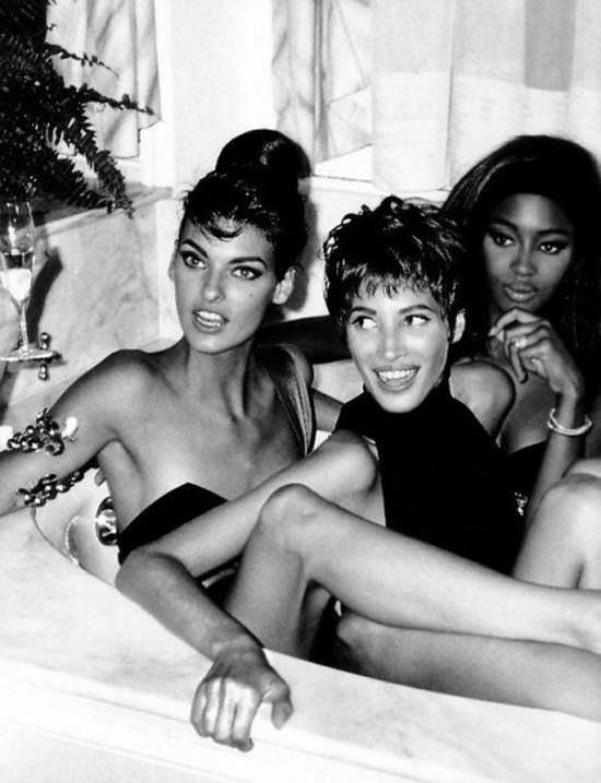 The Trinity (1990) #ChristyTurlington #LindaEvangelista #NaomiCampbell