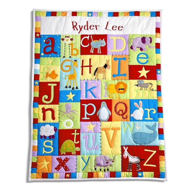 19 best quilts alphabet images on pinterest alphabet quilt baby alphabet quilt negle Choice Image
