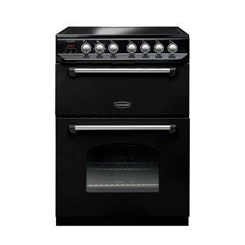 Rangemaster Classic 60 Ceramic Black Range Cooker 10733