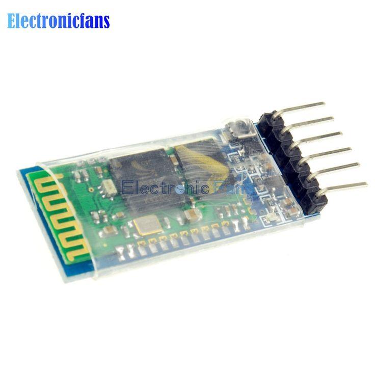 Free Shipping HC05 HC-05 Master-slave 6Pin JY-MCU Anti-reverse RF Transceiver Wireless Bluetooth Serial Module 3.3V for Arduino