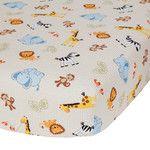 Jungle Buddies Crib Sheet