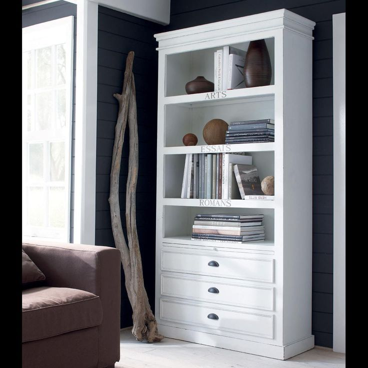 15 best Table basse images on Pinterest Family rooms, Guest rooms - meuble bibliotheque maison du monde