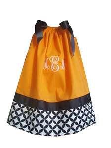 Pillowcase Dress-Pillowcase Dress, Monogrammed, Halloween