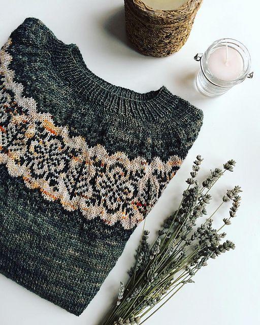 Silver Forest pattern by Jennifer Steingass