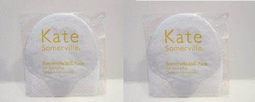 2 Pieces of Kate Somerville 360 Face Self Tanning Pads . $7.25