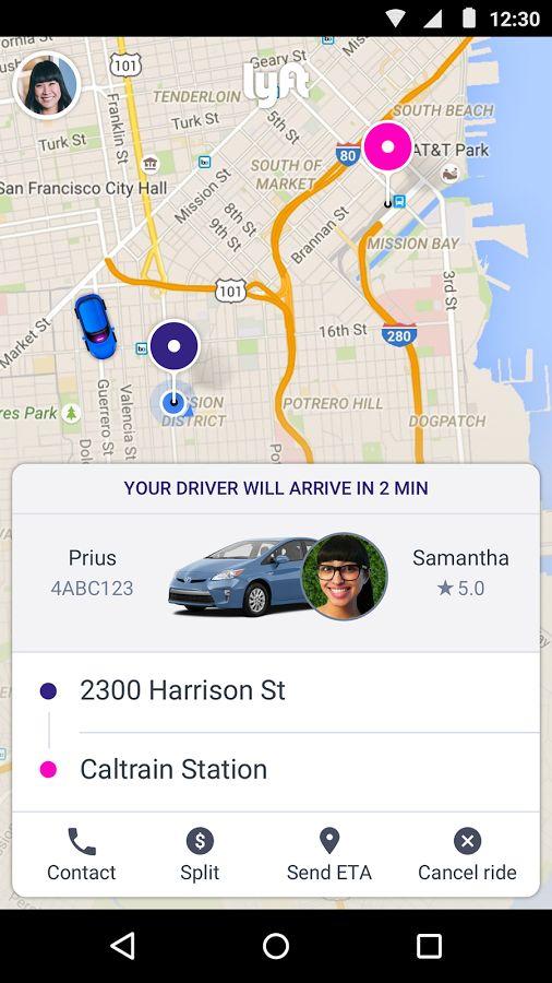 Lyft - Taxi App Alternative: captura de pantalla