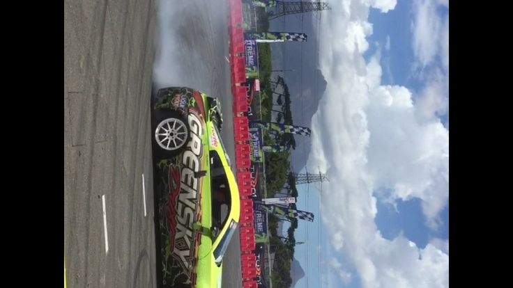 Drifting At The Cape Town Motor Show