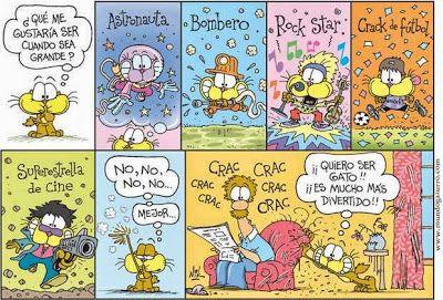 Les quichotteries de Delphine: Cuando sea grande, Gaturro.