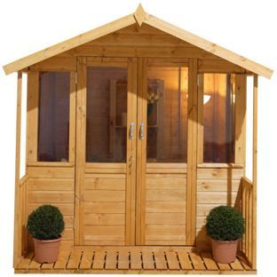 Buy Forest Maplehurst Wooden Summerhouse at Argos.co.uk - Your Online Shop for Summer houses and beach huts.