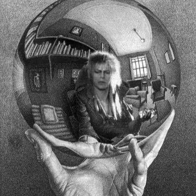 MC Esher/Bowie/Labyrinth