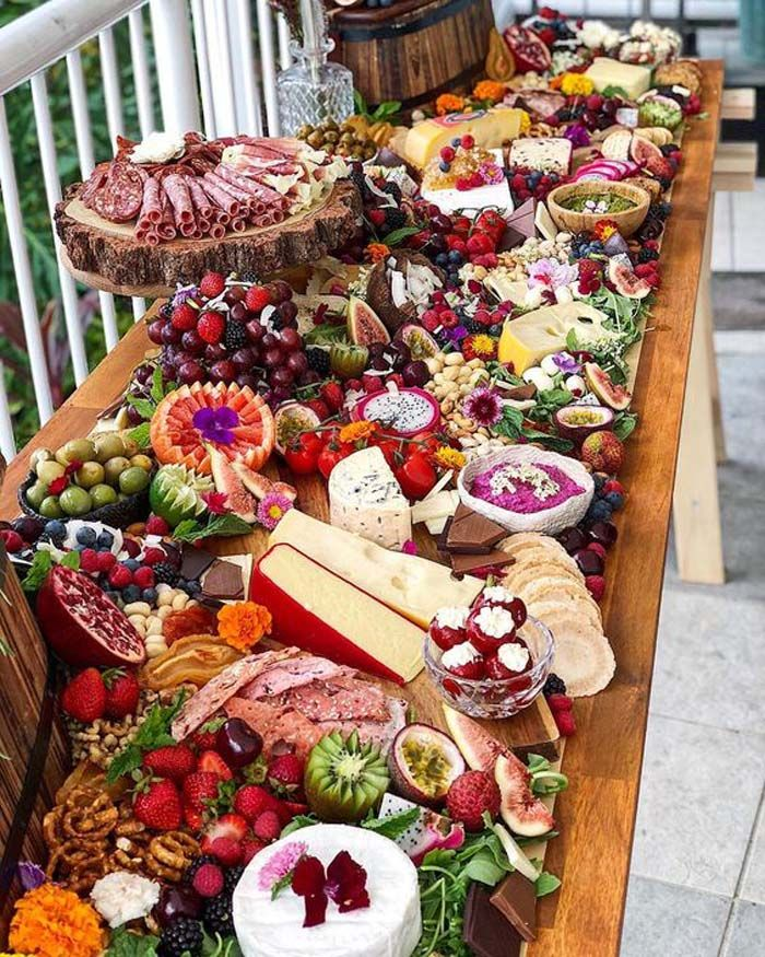 Wedding Food Ideas For Fall: Cheese And Charcuterie Boards That Your Guests Will Love