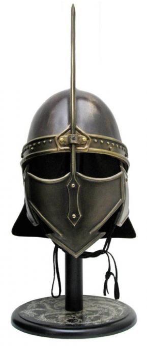 Réplica Casco de los Inmaculados. Tamaño real (Escala 1:1). Juego de Tronos. Valyrian Steel Estupenda réplica del casco de los Inmaculados a tamaño real (escala 1:1) 100% oficial y licenciado perteneciente a la exitosa serie de TV Juego de Tronos.