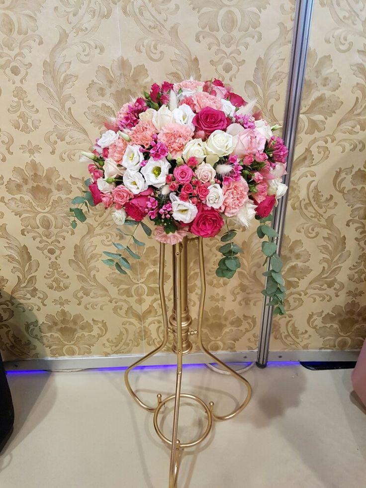 #esküvői #dekoráció #virág #rózsaszín #esküvő #alexandraeskuvo