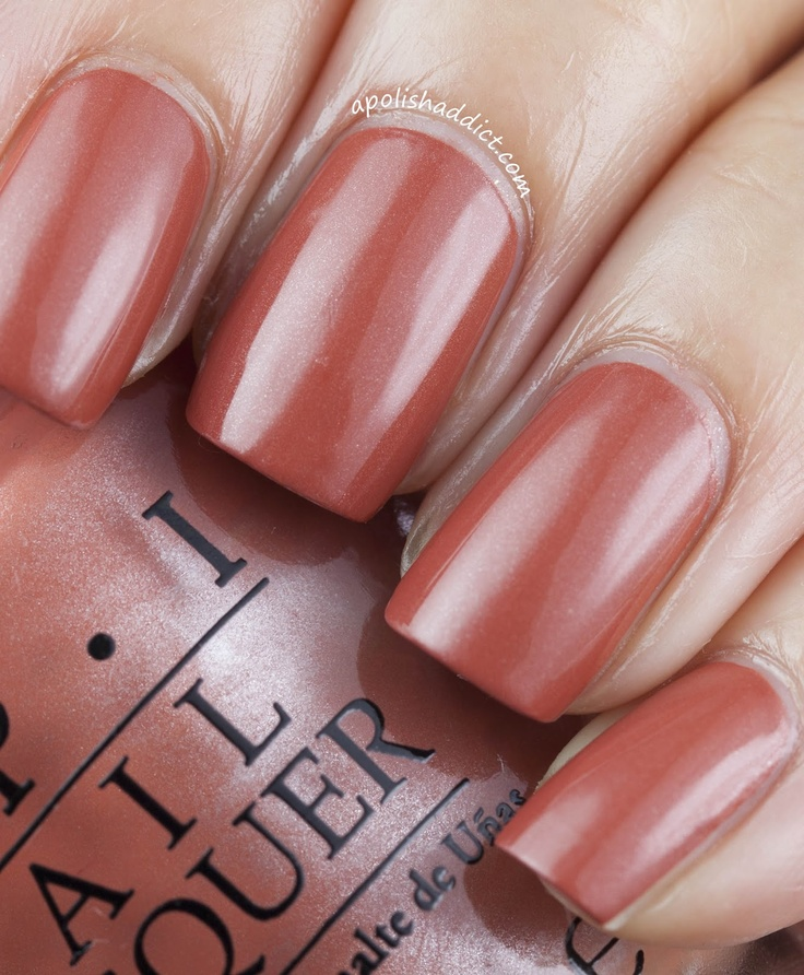 OPI Germany Collection - Schnapps Out of It. my favorite fall shade :)