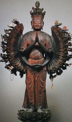 千手観音像 平安 京都 寿宝寺