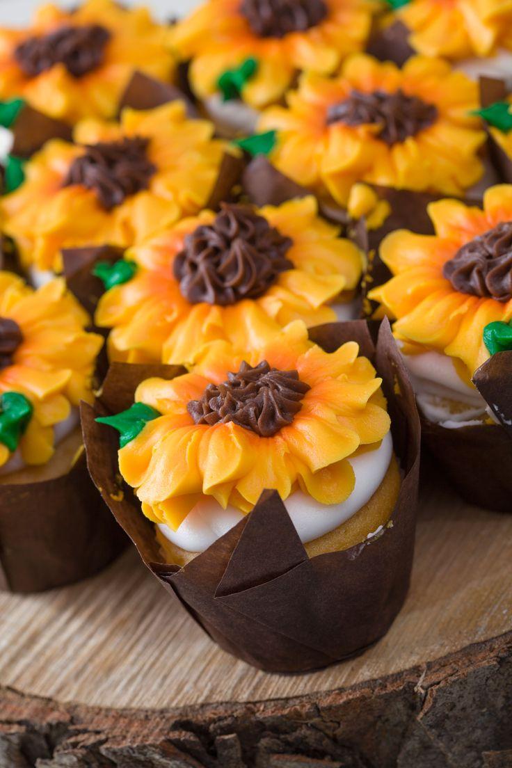 Sunflower Cupcakes from Martin's Bake Shoppe