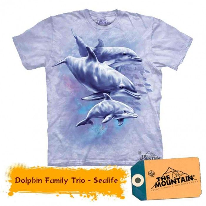 Tricouri The Mountain – Tricou Dolphin Family Trio