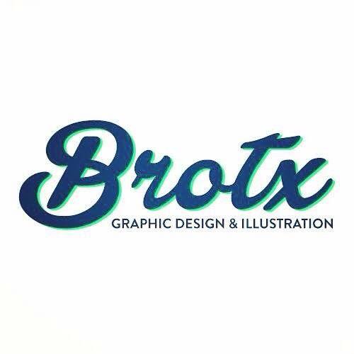 Logo BROTX GRAPHIC DESIGN