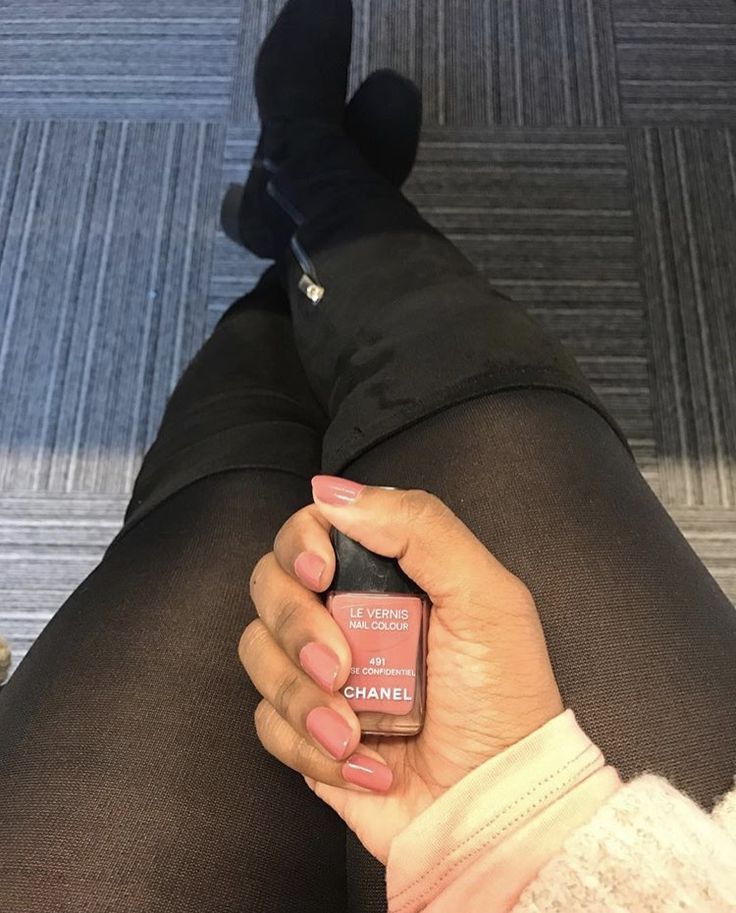 My favorite Fall's - Powder pink and Overtheknee's 🎀👢 #491