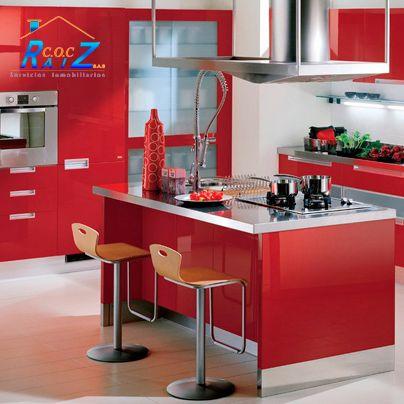 M s de 1000 ideas sobre gabinetes de cocina de color en for Losetas para cocina modernas