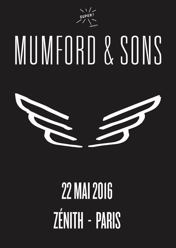 ... Mumford & Sons le 22 mai 2016 au Zénith de Paris ! Sur FNAC Spectacle