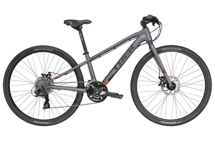 Trek Dual Sports 2017 Kids Bike - Grey - 26 Inch