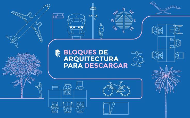 Galería de Descarga esta biblioteca de diseños y objetos en formato DWG para tus planos en CAD - 1