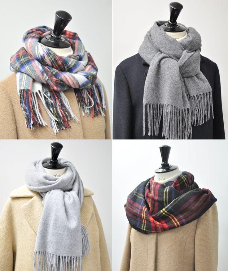 green label relaxingのスタッフブログ / 【覚えておきたい】冬のストールの巻き方5選+合わせるおすすめコート