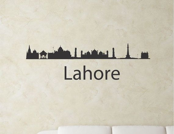 Best Wall Sticker Images On Pinterest City Skylines Wall Art - Wall decals in pakistan